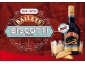 Baileys Irish Cream Biscotti