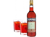 Campari, 2 Glasses