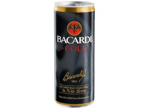 Bacardi Cola, Can 0.25