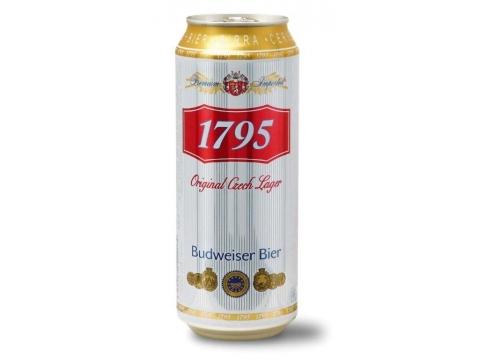 Budweiser 1795, Can 0.5
