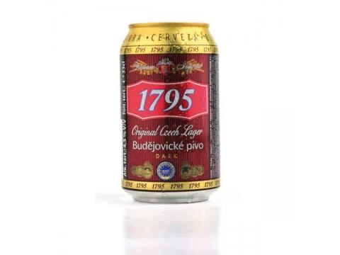 Budweiser 1795 Dark, Can 0.5