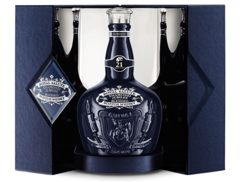 Chivas Royal Salute Diamond Jubilee Limited Edition