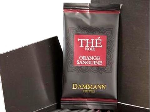 Dammann Orange Sanguine, Cutie 24 plicuri
