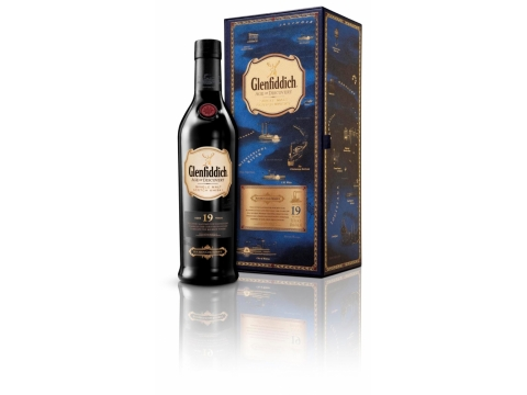 Glenfiddich Age of Discovery Bourbon Cask,  19 YO