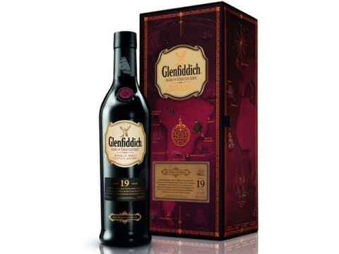 Glenfiddich Age of Discovery Red Wine Cask,  19 YO