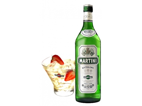 Martini Extra Dry, 1 Glass