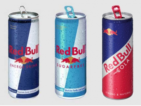 Red Bull Sugar Free Energy Drink, Can 0.25