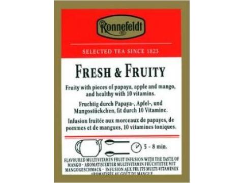 Ronnefeldt Fresh Fruit, Cutie 25 plicuri